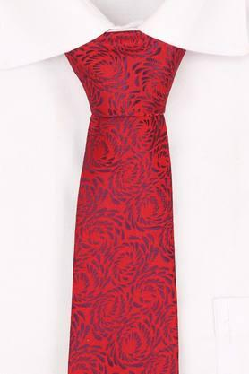 Mens Printed Tie with Cufflinks and Pocket Square
