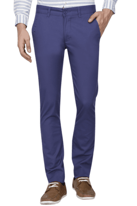 UNITED COLORS OF BENETTON Mens Slim Fit Solid Chinos