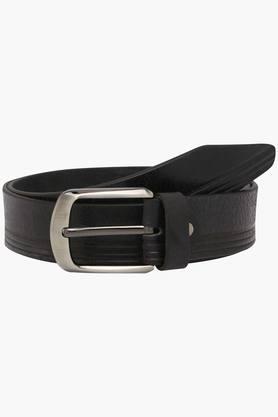 LIFEMens Leather Formal Buckle Belt