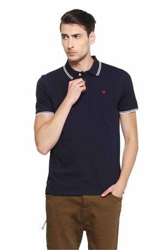 ALLEN SOLLY -  Dark BlueT-Shirts & Polos - Main