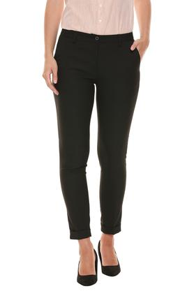 STOP - Black Trousers & Pants - Main