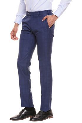 RAYMOND - Dark BlueFormal Trousers - 2