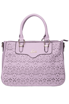 LAVIE Womens Savannah Leather 3 Compartment Large Tote Handbag (Use Code FB20 To Get 20% Off On Purchase Of Rs.1800)
