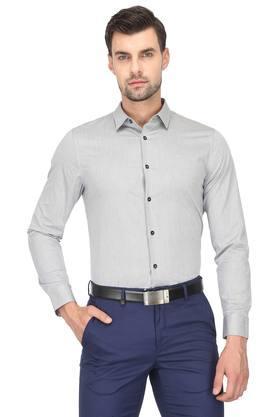 d9cf0377e X CALVIN KLEIN JEANS Mens Self Printed Formal Shirt. CALVIN KLEIN JEANS