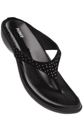 Womens Fancy Slipon Wedge Sandal