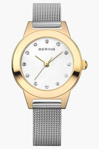 Womens Classic Silver Round Analogue Watch 11125-010
