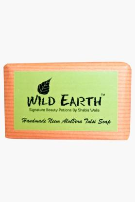 WILD EARTH Neem Aloe Vera Tulsi Soap