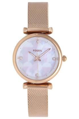 Womens Mother of Pearl Dial Analogue Watch - ES4566I