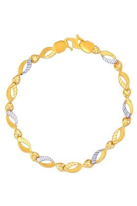 MALABAR GOLD AND DIAMONDS Womens Gold Bracelet SKYBR036