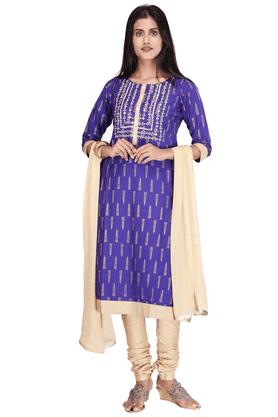KASHISHWomen Cotton Churidar Suit - 9875238