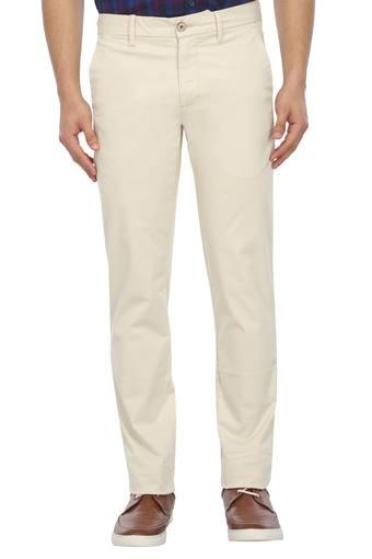 LOUIS PHILIPPE SPORTS -  Beige Cargos & Trousers - Main