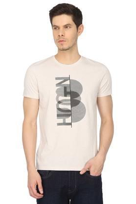 c0f381c6324 X BEING HUMAN Mens Round Neck Graphic Print T-Shirt. BEING HUMAN. Mens  Round Neck Graphic ...