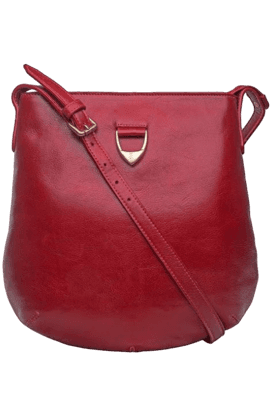 HIDESIGN Womens Blanche Leather Sling Bag (Buy A Bag & Get A Leather Credit Card Holder FREE!)