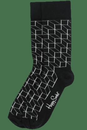 Mens Cotton Printed Socks