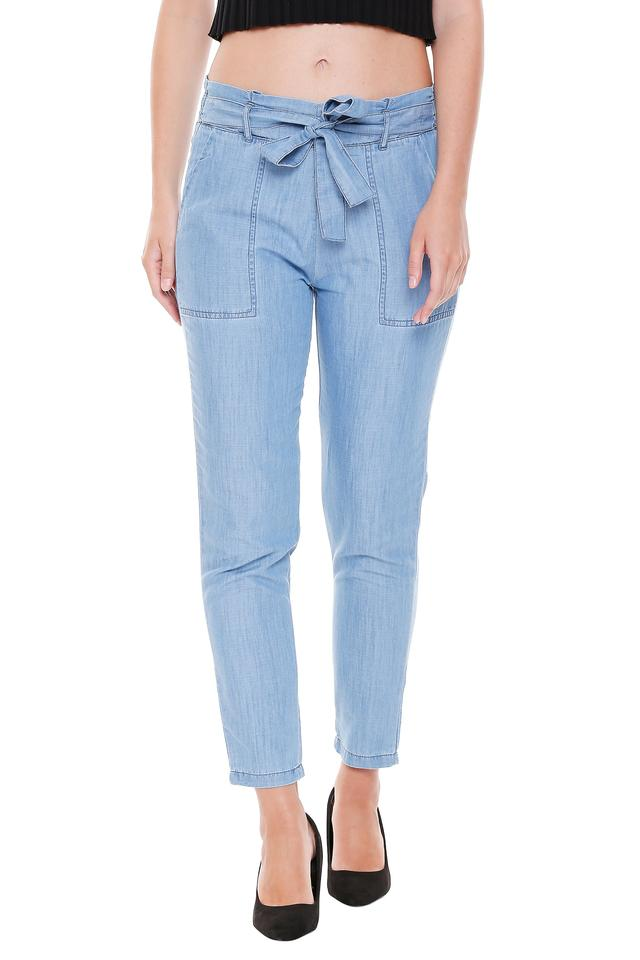 KRAUS - Blue Trousers & Pants - Main
