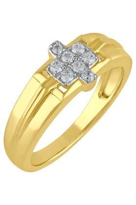 TARA JEWELLERSMen Gold & Diamond 18 Karat Ring - 201600962