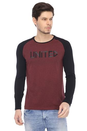 BEING HUMAN -  Red MixT-shirts - Main