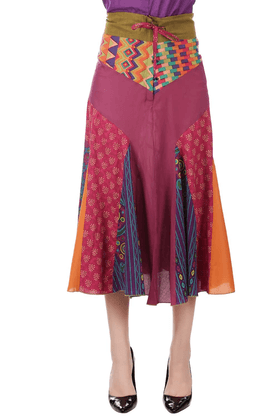 BOHEMYAN BLUE Women Cotton Skirt - 200345317