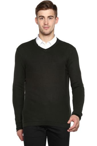 STOP -  Olive Mens Sweaters - Main