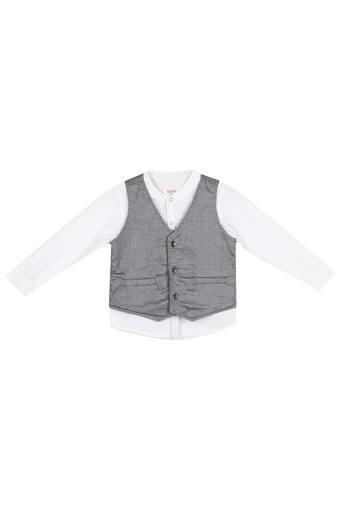 KARROT -  WhiteTopwear - Main