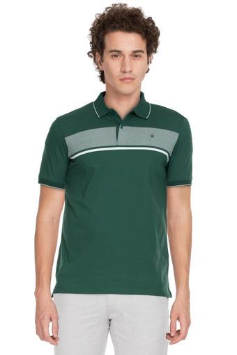 LOUIS PHILIPPE -  Olive T-Shirts & Polos - Main