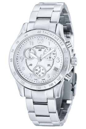 SWISS EAGLE Ladies Watch With Stainless Steel Strap And Round Dial - 6026-22