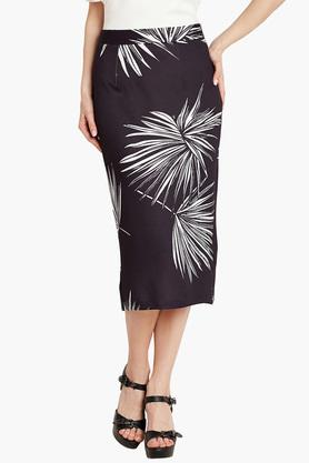 COVER STORY Womens Printed Pencil Skirt