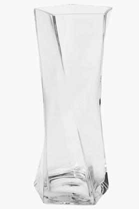 OCTAVEClear Pentagon Glass Vase