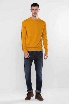 LEVIS - Yellow Pullover & Cardigan - 3
