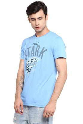Mens Round Neck Got Print T-Shirt