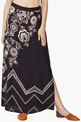 GLOBAL DESIWomen's Printed Skirt