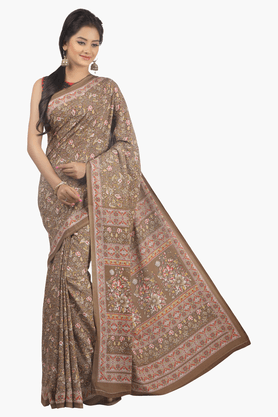 JASHN Womens Printed Saree - 201502466