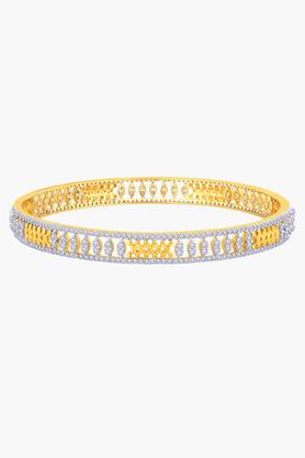 MALABAR GOLD AND DIAMONDSWomens 18 KT Gold And Diamond Bangle - 201203726