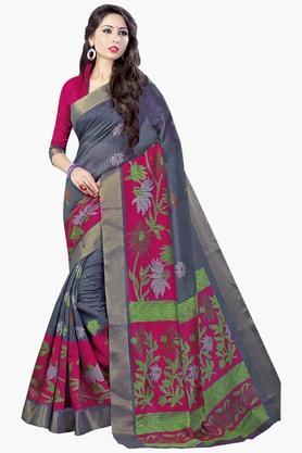 DEMARCAWomens Silk Designer Saree - 202338162
