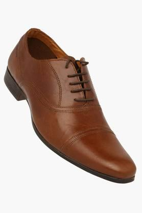 Mens Leather Smart Formal Lace Up Shoe