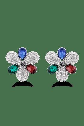 JAZZModa Stella Multicolour With American Diamond Flower Shaped Tops