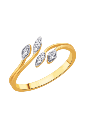 Buy GILI Womens 18KT Gold   Diamond Ring  84d1b520dc