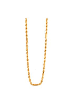 WHP JEWELLERS Mens Yellow Gold Chain GCHD16031911