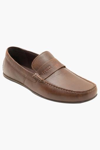 Mens Leather Slip On Formal Loafers