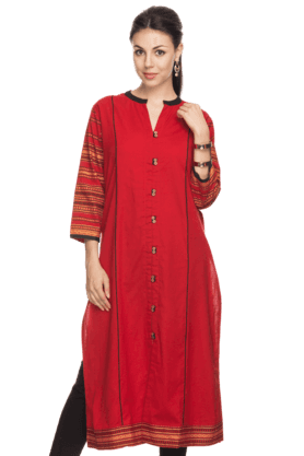 KASHISH Women Cotton Casual Kurta