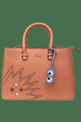 LAVIEWomens Poppins Snap & Zipper Closure 3 Compartment Hobo Handbag