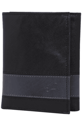 FASTRACKMens Genuine Leather 2 Fold Wallet