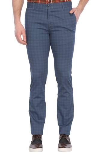 PARX -  Dark BlueCargos & Trousers - Main