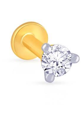 MALABAR GOLD AND DIAMONDSWomens Diamond Nosepin UINP00012