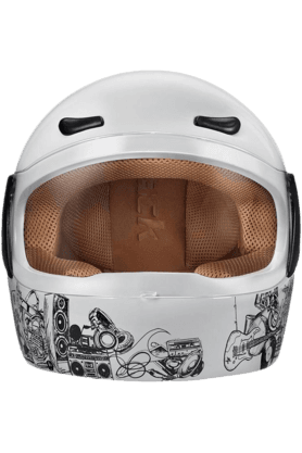 FASTRACK Mens Full Face Helmet