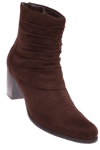Upto 30% Off on INC.5 | INC.5 Womens Brown Zipper Boot By ShoppersStop @ Rs.2,797