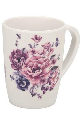 Floral Printed Orchid Mug