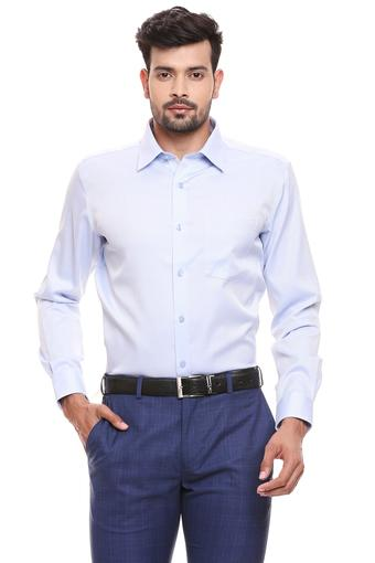 PARK AVENUE -  Light Blue Formal Shirts - Main