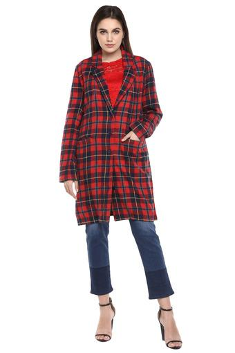 FEMINA FLAUNT -  Red Winterwear - Main