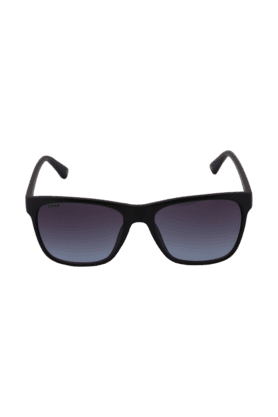 TITAN Eye Plus Glares Matte Black Full Rim Wayfarer UV Sunglasses For Men - 203CTMLMA